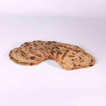 Afbeeldingen van Pakje Roggebrood met noten en rozijnen