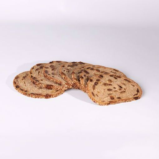 Afbeelding van Pakje Roggebrood met noten en rozijnen