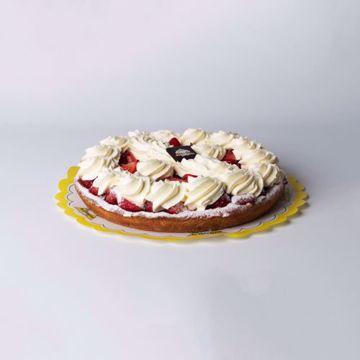 Afbeeldingen van Aardbeien slagroom