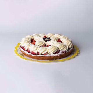 Afbeelding van Aardbeien middel slagroom