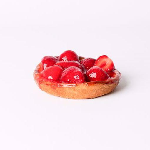 Afbeelding van Aardbeien vlaaitje eenpersoons