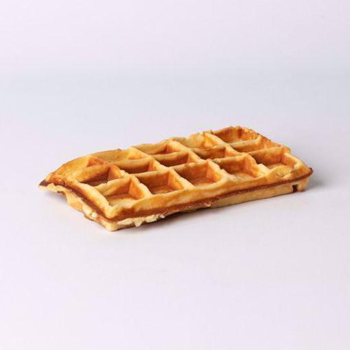 Afbeelding van Brusselse wafel naturel per 2 stuks