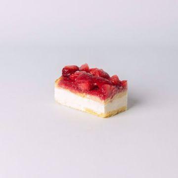 Afbeeldingen van Aardbeien gebak gluten en lactose vrij