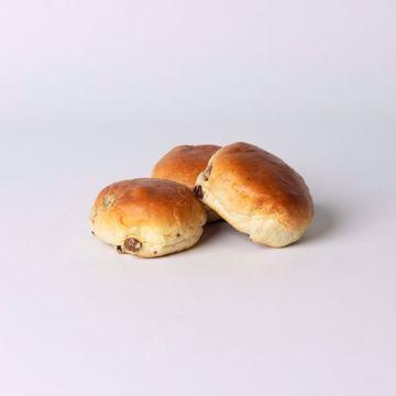 Afbeeldingen van Rozijnenbol mini per 10 stuks