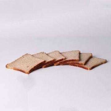 Afbeeldingen van Pakje vierkant Roggebrood
