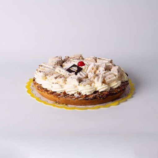 Afbeelding van Kersen slagroom en schuim