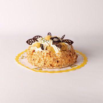 Afbeeldingen van Bananentaart