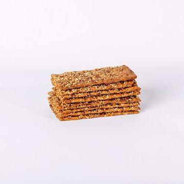 Afbeeldingen van Crackers met minder koolhydraten