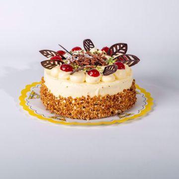 Afbeeldingen van Creme au beurre taart groot