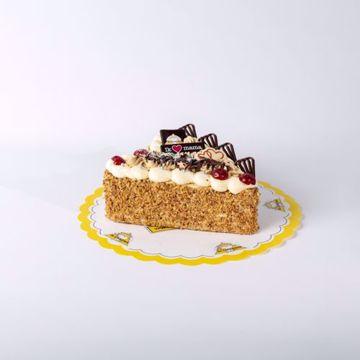 Afbeeldingen van Moederdag Hart taart mokka