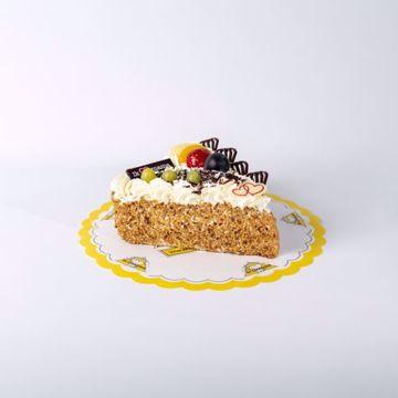 Afbeeldingen van Moederdag Hart taart slagroom