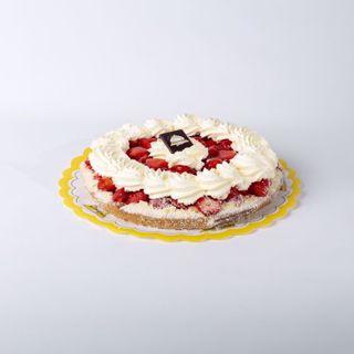 Afbeelding van Aardbeien harde wener klein slagroom