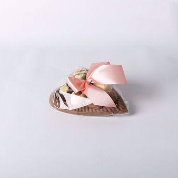 Afbeeldingen van Chocolade Hart Groot